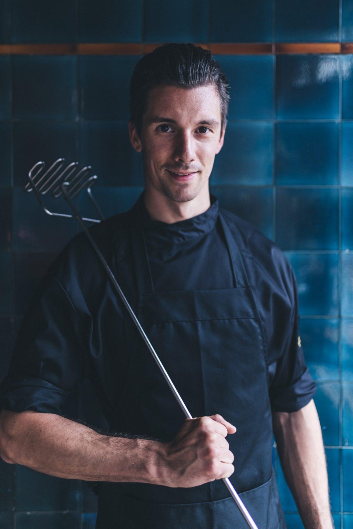 john in kitchen