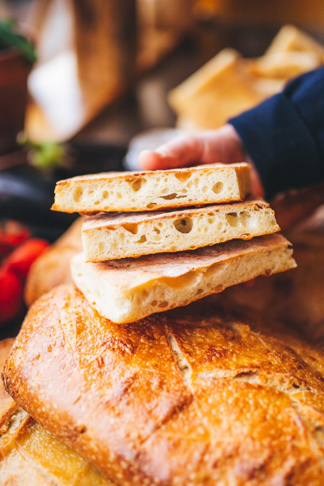 pizza bianca bread sandwich